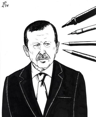 Cartoon: All are with Musa Kart (medium) by paolo lombardi tagged turkey,erdogan,freedom