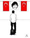Cartoon: Gezi Park anniversary (small) by paolo lombardi tagged turkey