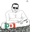 Cartoon: Italian Summer (small) by paolo lombardi tagged italy,bersani,berlusconi,grillo,governo,letta