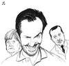 Cartoon: The Devil Jan Bohmermann (small) by paolo lombardi tagged satire