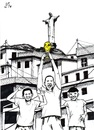 Cartoon: The Winners (small) by paolo lombardi tagged brazil