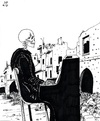 Cartoon: Truce in Aleppo (small) by paolo lombardi tagged syria,war,peace