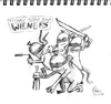 Cartoon: TEENAGE MUTANT NINJA WIENERS (small) by allesausmkopf tagged tmnt,ninjaturtles,ratsensei,leonardo,donatello,michelangelo,raphael,turtles,ninja,manhattan,underground,ninjutsu,comic,splinter,heros,action,shadows
