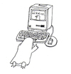 Cartoon: penguin web shopping (small) by etsuko tagged etsuko,penguin,web