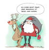Cartoon: nikolaus 2015 (small) by Mergel tagged nikolaus,weihnachten,rudi,rentier