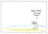 Cartoon: Das Meer (small) by fussel tagged meer,mehr,zuviel
