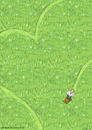 Cartoon: Heart Times (small) by fussel tagged love,spring,green,mow,lawn,herz,rasen,herzrasen,rasenmäher
