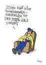 Cartoon: Von wegen... (small) by fussel tagged post,streik,poststreik,verdi,privatisierung,bulgarisierung,arbeit,arbeitskampf,outsourcing,shareholder,ausgliedern,austöchtern,delivery,gmbh,appel,postbote,briefträger,value,fussel,cartoons