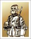 Cartoon: HERMANITO (small) by PEPE GONZALEZ tagged wwii,german,aleman,hassel,sven,germany,soldier