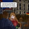Cartoon: Schneeschmelze (small) by Fenya tagged pegida,nopegida,dresden,noracism,cafe,demonstration,frauenkirche,rassismus
