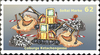 Cartoon: Briefmarke Coburg 6 (small) by SoRei tagged regional,insider,briefmarke,ketschengasse,coburg