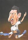 Cartoon: Özil in aktion (small) by Bert Kohl tagged özil spielgestalter