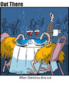 Cartoon: dining (small) by George tagged dining