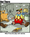Cartoon: pinocchio (small) by George tagged pinocchio