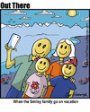Cartoon: selfie family (small) by George tagged selfie,family