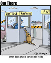 Cartoon: toll (small) by George tagged toll
