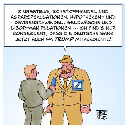 Deutsche Bank Donald Trump