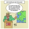 Cartoon: Aktionsplan Deutschland (small) by Timo Essner tagged erdogan,türkei,aktionsplan,deutschland,armenien,resolution,bundestag,cartoon,timo,essner