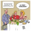 Cartoon: Altersvorsorge (small) by Timo Essner tagged altersvorsorge,anlage,rentenversicherung,testament