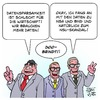 Cartoon: Datensparsamkeit (small) by Timo Essner tagged daten,datensicherheit,datensparsamkeit,sigmar,gabriel,alexander,dobrindt,thomas,de,maiziere,demaiziere,cartoon,timo,essner