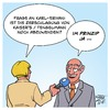 Cartoon: Frage an Karl-Erivan (small) by Timo Essner tagged karl,erivan,haup,kaisers,tengelmann,kaiser,edeka,radio,eriwan,cartoon,timo,essner