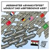Cartoon: Frohe Weihnachten (small) by Timo Essner tagged syrien,deutschland,usa,frankreich,saudi,arabien,krieg,is,daesh,cartoon,timo,essner