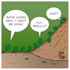 Cartoon: Impossible (small) by Timo Essner tagged impossible,ants,cooperation,nature,environment,climate,pair,or,perish,cartoon,timo,essner