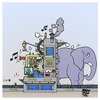 Cartoon: Media (small) by Timo Essner tagged pr,media,medien,werbung,advertising,news,business,nachrichten,fliege,mücke,elefant,elephant,fly,mosquito,cartoon,timo,essner