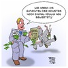 Cartoon: WHO und Glyphosat (small) by Timo Essner tagged glyphosat,bfr,bundesamt,für,risikobewertung,neubewertung,pestizid,krebsrisiko,uno,who,deutschland,cartoon,timo,essner