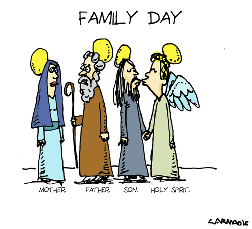 Cartoon: Family Day (medium) by Carma tagged society,family,italy