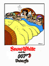 Cartoon: 007 (small) by Carma tagged snow,white,dwarfs,007