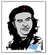 Cartoon: Alexis Tsipras (small) by Carma tagged alexis tipras che guevara greece politics guerrilla revolution