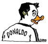 Cartoon: Cristiano Donaldo (small) by Carma tagged football,sport,ronaldo