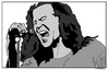 Cartoon: Eddie Vedder (small) by Carma tagged eddie,vedder,pearl,jam,famous,people,music,rock,grunge