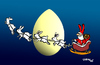 Cartoon: Frohe Ostern (small) by Carma tagged eastr,ostern,rabbit,egg