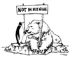 Cartoon: Gloobal Climate (small) by Carma tagged climate,nature,animals