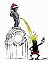 Cartoon: The Last Selfie of 2015 (small) by Carma tagged happy,new,year,2016,fear,terrorism,alert