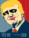 Cartoon: joker (small) by Carma tagged trump usa elections
