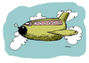 Cartoon: Life Cost Flight (small) by Carma tagged travels,flights,plane,terrorism