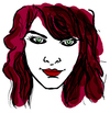 Cartoon: Milla Jovovich (small) by Carma tagged milla,jovovich,celebrities