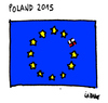 Cartoon: Poland 2 (small) by Carma tagged poland,elections,eu,nationalism