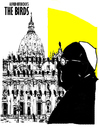 Cartoon: The Birds (small) by Carma tagged vaatican,pope,church,vatileaks