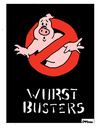 Cartoon: WurstBusters (small) by Carma tagged ghostbusters,meat,wurstel