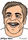 Cartoon: Philipp Lahm (small) by Ralf Conrad tagged philipp,lahm,wm,2014