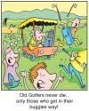 Cartoon: TP0068golf (small) by comicexpress tagged golf,golfer,sport,outdoors,recreation,hobby,cart,old,aged,geriatric,pensioner,hazrads