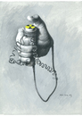 Cartoon: Nuclear (small) by Agim Sulaj tagged nuclear,energy
