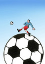 Cartoon: futduo (small) by kotrha tagged soccer