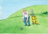 Cartoon: golfzub (small) by kotrha tagged humor