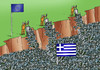 Cartoon: moneysos (small) by kotrha tagged greece,ue,money,crisis
