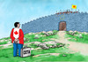 Cartoon: neotvorime (small) by kotrha tagged ceta canada europe eu usa brusel world